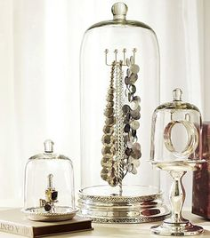 Jewelry Organization - great for your special-occasion less-used jewelry