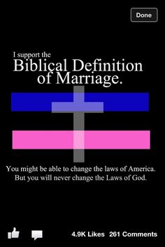 No man can change God's laws!