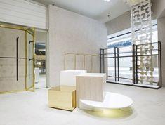 """Foley's store by design, mexico city - mexico """" retail Boutique San Francisco, Shop House Plans, Shop Plans, Shop Interior Design, Retail Design, Display Design, Store Design, Mexico City, Visual Merchandising"""