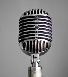 The original Shure 55 used by the likes of Elvis, Carl Perkins and Johnny Cash. Sun Studio, Memphis.