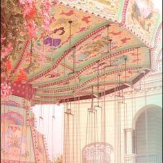 Vintage Carousel   antique, carnival ride, carousel, lovely - inspiring picture on Favim ...