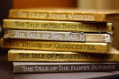 I remember many happy hours in our local library; that was built in the nineteenth century. I would sit on a low wooden bench near the big brick fire place reading Beatrix Potter tales.