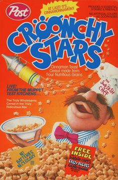 Cröonchy Stars Cereal | 25 Cereals From The '80s You Will Never Eat Again