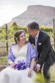 David & Sara | Amy's Courtyard Wedding in Palisade Colorado - amanda.matilda.photography