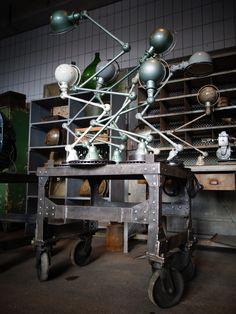 Old, Industrial, Vintage
