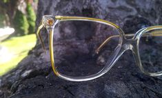 445990880a Gambini eyeglasses   gemstone glasses   children eyeglasses   kids fashion    yellow frames   vintage 1980s eyewear   made in Italy   NOS
