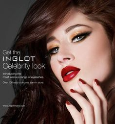 #Inglot #Red #hot #Celebtitylook