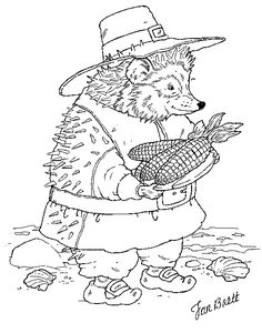 Jan Brett offers up a ton of sweet free coloring pages for holidays and anydays -- I enjoy coloring them with the bub myself!
