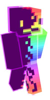 Check out our list of the best Rainbow Minecraft skins. Skins Minecraft, How To Make Minecraft Skins, Minecraft Skins Aesthetic, Cool Minecraft Houses, Minecraft Blueprints, Minecraft Art, Minecraft Creations, Minecraft Memes, Minecraft Buildings
