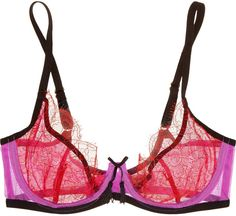 aeb096e89b531 Agent Provocateur Megan lace and stretch-tulle underwired bra - ShopStyle