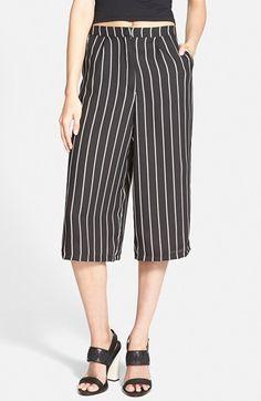 Women's Glamorous Pinstripe Culottes