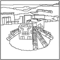 Mob tamed 1 color pages pinterest for Minecraft chicken coloring pages