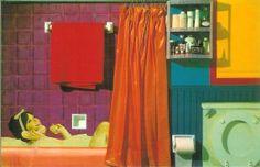 Tom Wesselmann * Bathtub Collage #2 (1963)