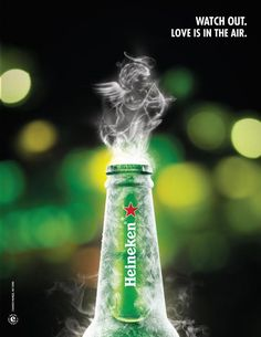 Heineken!  I know, I know....I gave my Heineys when I started WW, but that doesn't mean they aren't still in my heart!