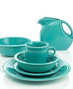 turquoise Fiestaware