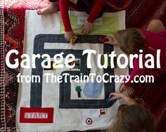 Car Play Mat Garage Tutorial