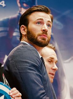 Chris being hot as usual