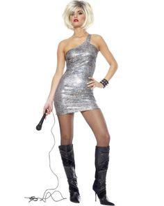 80s Diva Blondie Womens Costume