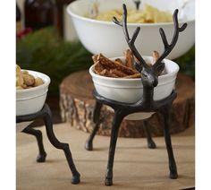Reindeer Bowl Holder