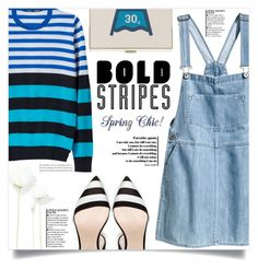 """""""Big, Bold Stripes"""" by dolly-valkyrie ❤ liked on Polyvore featuring H&M and BoldStripes"""