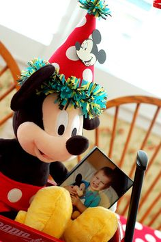 "Life With Lulu and Junebug...And Carter, Too!: Oh ""Two""dles! It's Carter's Mickey Mouse Birthday Party!"