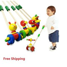 Free Shipping! Baby Wooden Hand Frog Push And Pull Animal,Toddler Toys Walker Children Kids Toy Car Outdoor Sports juguetes - http://toysfromchina.net/?product=free-shipping-baby-wooden-hand-frog-push-and-pull-animal-toddler-toys-walker-children-kids-toy-car-outdoor-sports-juguetes