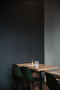 Oliv Eat, Eat Berlin / Marta Greber. Black Walls | The Good Hacienda | curated by Hilary