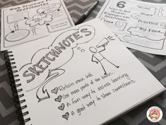 6 Ways to get Student Engagement with Sketchnotes Free handouts included.