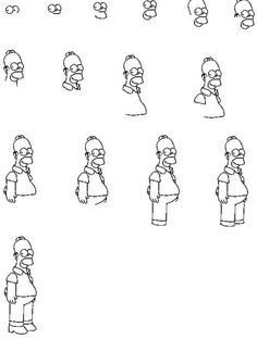 Excellent Images For - How To Draw Cartoon Characters Step By Step ...