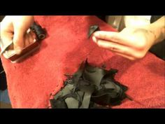▶ How to Make a Leather Rose - YouTube