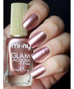 Smalto Collezione Metal Mirror grigio Avenue M. Metal Mirror, Nail Polish, Cosmetics, Nails, Beauty, Shop, Finger Nails, Ongles, Nail Polishes