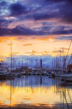 #Sunset - Genoa, Liguria, Italy