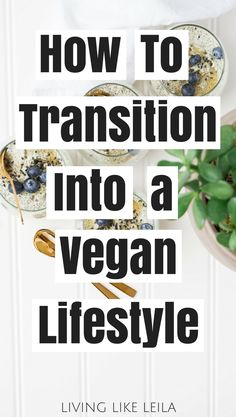 Thinking about going vegan? Read this first to make the transition easier! --www.LivinglikeLeila.com--