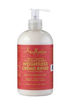 Fruit Fusion Coconut Water Weightless Créme Rinse    #ReviveVoxBox #SheaMoisture, #SheaFruitFusion
