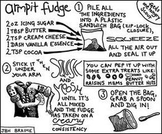 Armpit fudge | Joly's Blog