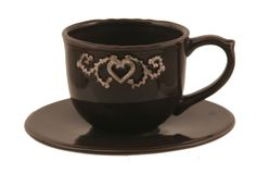 Cup with saucer, Caroline Collection