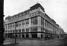 1910.. Schicklerstraße ecke Neue Friedrichstraße.. Littenstraße.. das sog. Schicklerhaus