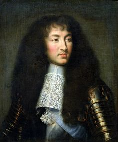 Louis XIV by Charles le Brun (1661)
