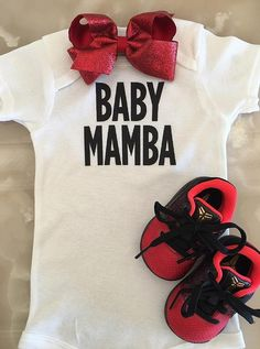 Happy news: Sharing an image of a white babygrow, with the slogan 'Baby Mama' emblazoned on it, Kobe announced that he and his wife of 15 years were 'beyong blessed'