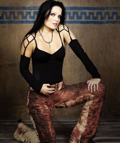 Tarja. I want to take her voice and make it mine, like Ursula did to Aerial.