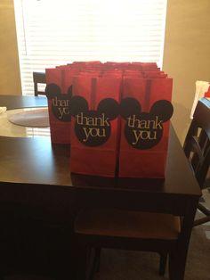 Noah's 1st Birthday, Mickey Palooza!! | CatchMyParty.com