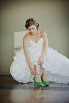 #RealBride Danike's apple green Kim Style #AnellaWeddingShoes Girls Dresses, Flower Girl Dresses, Wedding Shoes, Wedding Dresses, Brides, Apple, Green, Fashion, Wedding Shoes Heels