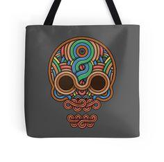 Celtic Skull by crabro Tote Bag