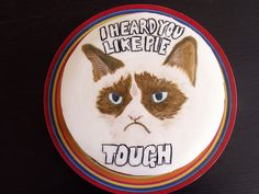 Grumpy Cat Birthday Cake by twominuteshate, via Flickr
