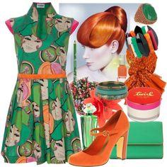 Orange & Green