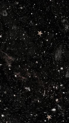 image Night Sky Wallpaper, Black Phone Wallpaper, Star Wallpaper, Wallpaper Space, Homescreen Wallpaper, Iphone Background Wallpaper, Galaxy Wallpaper, Cool Wallpaper, Black Aesthetic Wallpaper