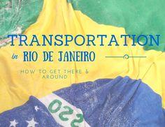 Brazil Travel Tips: Transportation in Rio de Janeiro l Rio de Janeiro, Brazil l @tbproject