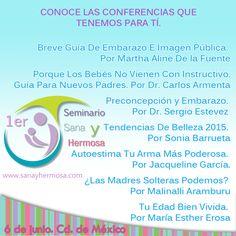 ¿Quieres más información de nuestro Primer Seminario Sana y Hermosa? Dale click al enlace a nuestro evento: https://www.facebook.com/events/454361178053386