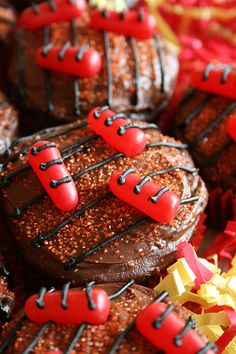 BBQ Grill Cupcakes - cutest idea ever!
