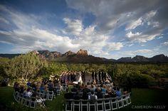 L'Auberge de Sedona Wedding at Spirit Song by Cameron & Kelly Studio